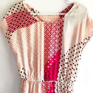 Cooperative Urban Outfitters Mixed Pattern Dress